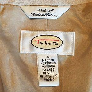 Talbots Jackets & Coats - Talbots Cream Blazer